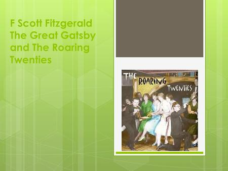 the issue of morals and humanitys errors in fscott fitzgeralds the great gatsby No 1 an analysis of single sex schools for students (2011) vol 2.