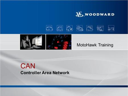 MotoHawk Training CAN Controller Area Network.
