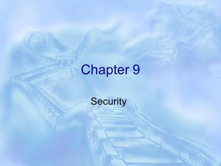 Chapter 9 Security. Endpoints  A SQL Server endpoint is the point of entering into SQL Server.  It is implemented as a database object that defines.