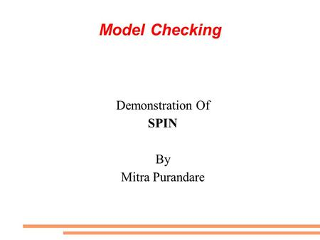 Demonstration Of SPIN By Mitra Purandare