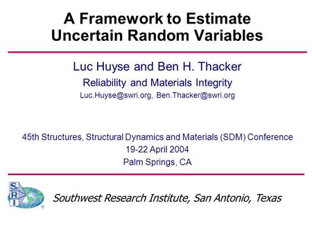 differential equations master thesis ppt
