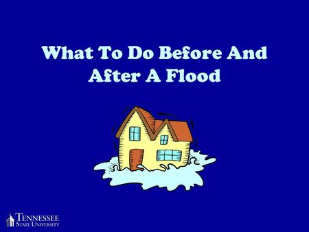What To Do Before And After A Flood. Preparing For A Flood Floods can make your food and water unsafe. Move canned goods and cooking equipment to a high.