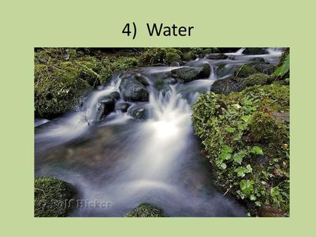 4) Water. Water You can last 3-4 days without water ( depending on conditions) You should drink 3 quarts of water each day. Boil, filter, or treat water.
