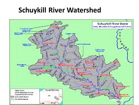 Schuykill River Watershed.   ebrateDetail.cfm?wsid=29.