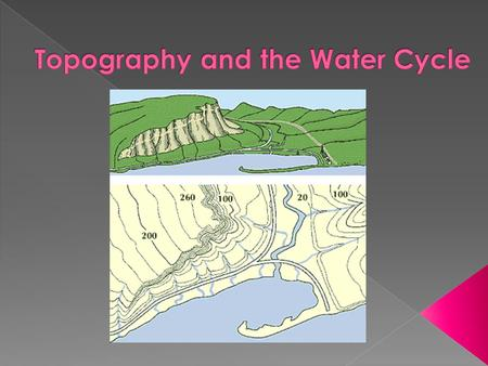 Topography and the Water Cycle