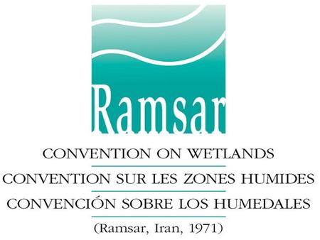 "Ramsar Convention on Wetlands (www.ramsar.org) Ramsar Convention on Wetlands (www.ramsar.org) Convention on Wetlands ""The conservation and wise use of."