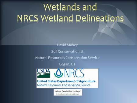 Since the late 1700s, >50% of U.S. wetlands have been converted to other uses.