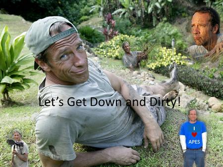 Let's Get Down and Dirty!