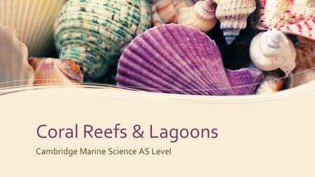 Cambridge Marine Science AS Level