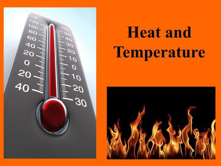 Heat and Temperature. Let's Review - According to the kinetic theory of matter, all matter is made up of tiny particles – called atoms or molecules. -