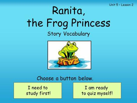 Ranita, the Frog Princess