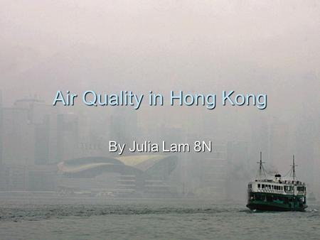 air pollution causes problems and solutions in hong kong essay Air pollution in hong kong 5b siu worthwhile to analyze the causes and effects of air pollution kong is certainly a major cause of health problems such.