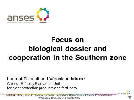 biological dossier and cooperation in the Southern zone