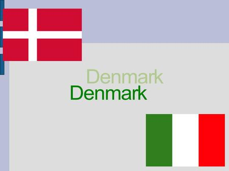The Kingdom of Denmark is the smallest and the most southern country of the Scandinavian countries. It borders with Germany in the south and is to the.