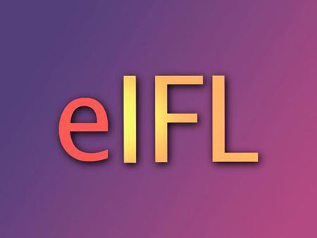 e I FL Electronic Information for Libraries An idea born out of an ideal An Open Society Institute project for transition in developing countries.