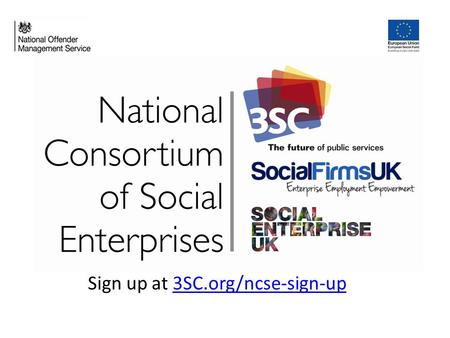 Sign up at 3SC.org/ncse-sign-up3SC.org/ncse-sign-up.