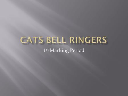 1 st Marking Period.  Bell Ringer:  Please fill out the Technology Survey on your desk.  Agenda:  1. Technology Survey  2. Syllabus  3. Must Reads.