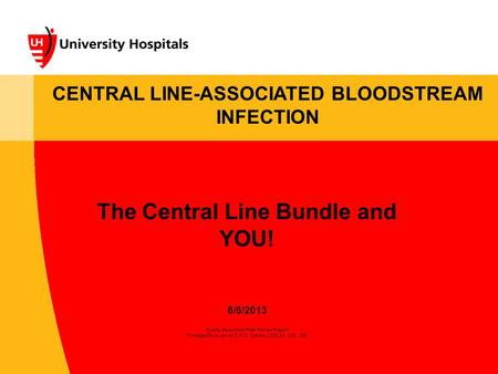 The Central Line Bundle and YOU!