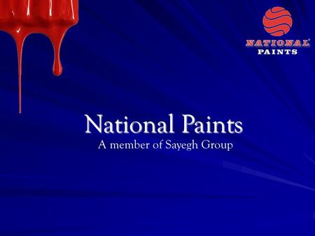 National Paints A member of Sayegh Group. National Extreme.