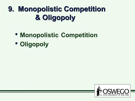 Difference Between Oligopoly and Monopolistic Competition