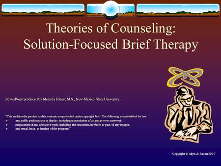 Theories of Counseling: Solution-Focused Brief Therapy