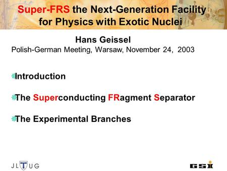 Super-FRS the Next-Generation Facility for Physics with Exotic Nuclei