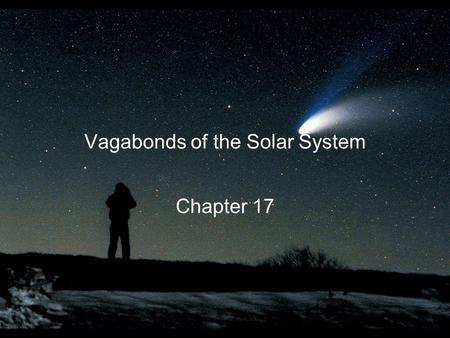 Vagabonds of the Solar System Chapter 17. A search for a planet between Mars and Jupiter led to the discovery of asteroids Astronomers first discovered.