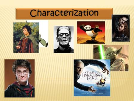 CharacterizationCharacterization. Readers come to know a character through the character's words, thoughts, and actions. Readers come to know a character.