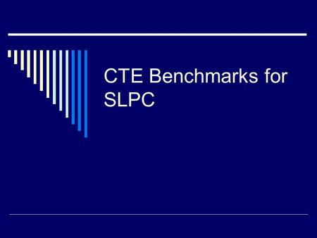 CTE Benchmarks for SLPC. 7-8.2.1 Workplace Behaviors Apply appropriate and safe behaviors for the school, community, and workplace  Lab Safety Comic.