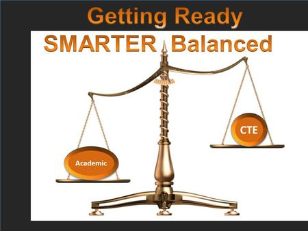 SMARTER Balanced update/information Tom Thompson and Jennell Ives Oregon Department of Education Common Core State Standards CTE Academic.