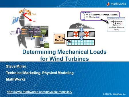 Determining Mechanical Loads for Wind Turbines