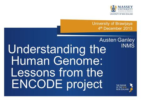 Understanding the Human Genome: Lessons from the ENCODE project
