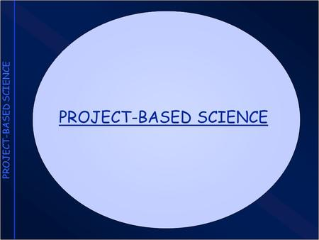 PROJECT-BASED SCIENCE. Features of Project-Based Science Driving Questions Investigations Collaboration Artifacts Technology.
