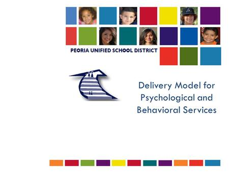 Delivery Model for Psychological and Behavioral Services.