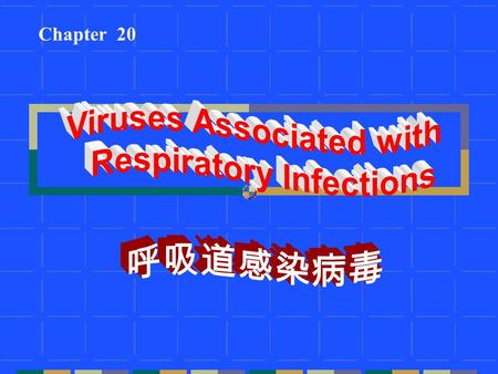 Viruses Associated with Respiratory Infections