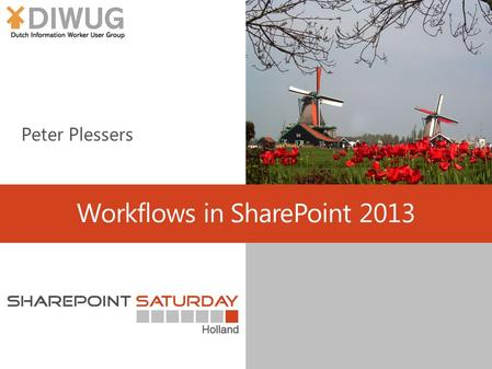 Workflows in SharePoint 2013. About me We love workflows.