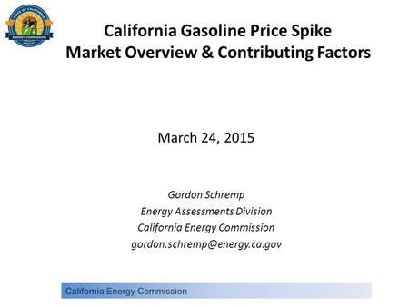 California Gasoline Price Spike Market Overview & Contributing Factors