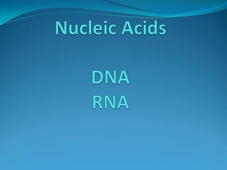 DNA exist in 2 places in the cell The nucleus & the Mitochondria.