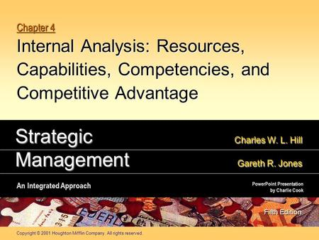 Strategic Charles W. L. Hill Management Gareth R. Jones