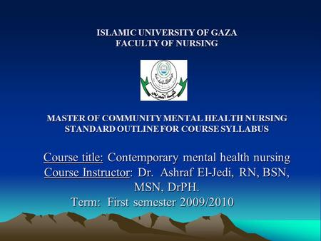 Thesis title in nursing