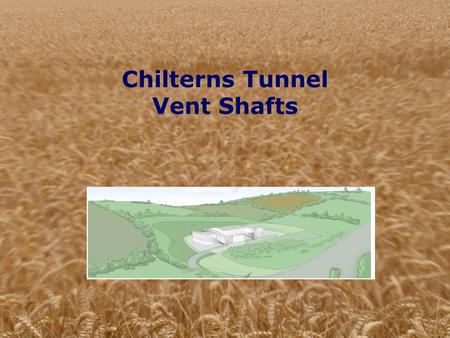 Chilterns Tunnel Vent Shafts