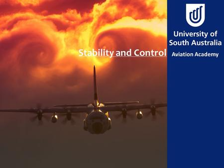 Stability and Control. Aim To learn what stability is and how it affects flight characteristics.
