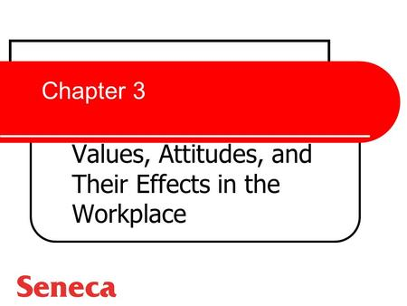 Values, Attitudes, and Their Effects in the Workplace
