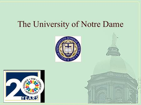 The University of Notre Dame. Mission-Driven But Data-Informed: Applications of Change Theory in Schools.