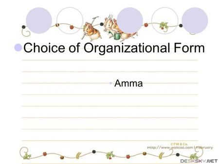 Choice of Organizational Form Amma. Facts Brigg has operated a landscaping business, Good Earth Landscaping, as a sole proprietorship. He has done most.