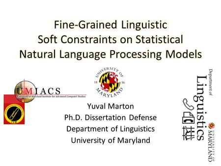 Phd no dissertation topics in applied linguistics