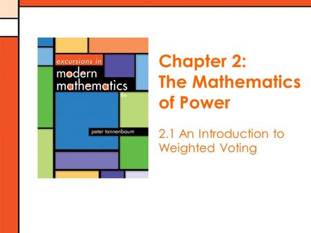 The Mathematics of Power