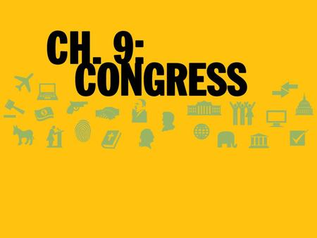 Congress House & Senate: Differences in Representation Bicameral System: Two Chambers –Each state has two senators –Representation in the House determined.