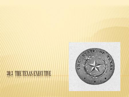 30.3 The Texas Executive.