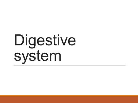 Digestive system. Function of the digestive system Primary function: breaks down macromolecules into substances the body can use Other functions: house.
